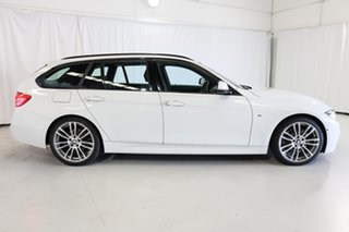 2016 BMW 3 Series F31 LCI 330i Touring M Sport White 8 Speed Sports Automatic Wagon.