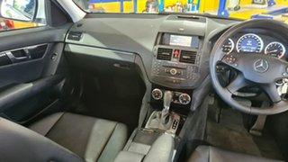 2007 Mercedes-Benz C200 W204 Kompressor Avantgarde White 5 Speed Auto Tipshift Sedan
