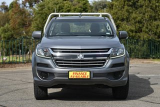 2016 Holden Colorado RG MY17 LS Grey 6 Speed Sports Automatic Cab Chassis.