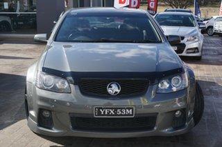 2011 Holden Commodore VE II SS V Grey 6 Speed Sports Automatic Sedan.