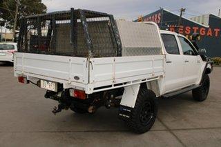 2014 Toyota Hilux KUN26R MY14 SR5 (4x4) White 5 Speed Manual Dual Cab Pick-up