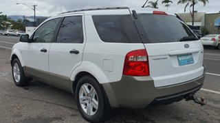 2008 Ford Territory SY TX White 4 Speed Sports Automatic Wagon.