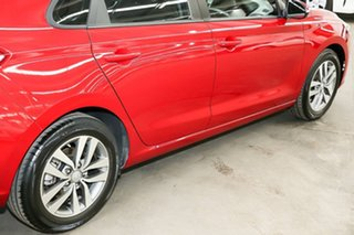 2017 Hyundai i30 PD MY18 Active Red 6 Speed Manual Hatchback