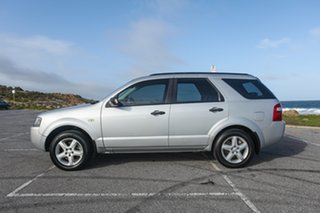 2009 Ford Territory SY SR RWD Silver 4 Speed Sports Automatic Wagon