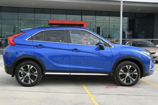 2020 Mitsubishi Eclipse Cross YA MY20 Exceed AWD Blue 8 Speed Constant Variable Wagon.