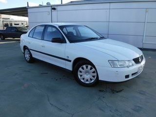 2003 Holden Commodore VY Executive White 4 Speed Automatic Sedan.