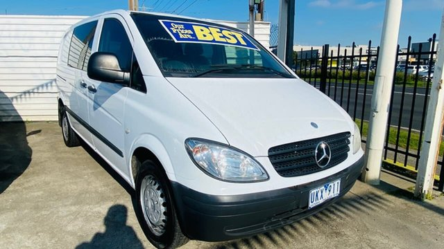 Used Mercedes-Benz Vito 639 115CDI Low Roof Comp Maidstone, 2006 Mercedes-Benz Vito 639 115CDI Low Roof Comp White 5 Speed Automatic Van