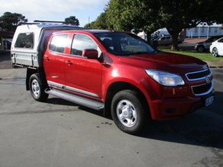 2016 Holden Colorado RG MY16 LS-X Red 6 Speed Automatic Dual Cab.