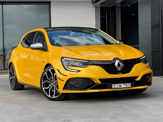 Used Renault Megane BFB R.S. EDC Sport Liverpool, 2019 Renault Megane BFB R.S. EDC Sport Yellow 6 Speed Sports Automatic Dual Clutch Hatchback