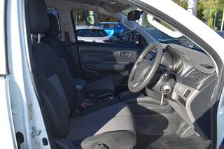2015 Mitsubishi Triton MQ MY16 GLX Double Cab White 5 Speed Sports Automatic Utility