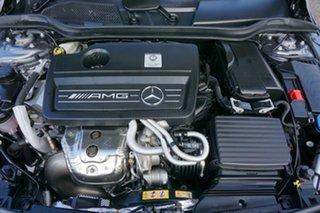 2018 Mercedes-Benz A-Class W176 808+058MY A45 AMG SPEEDSHIFT DCT 4MATIC Grey 7 Speed