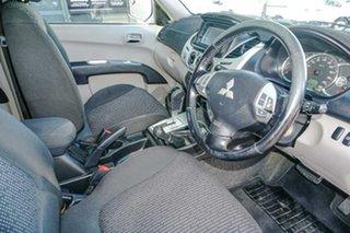 2010 Mitsubishi Triton MN MY11 GLX-R Double Cab Blue 5 Speed Sports Automatic Utility