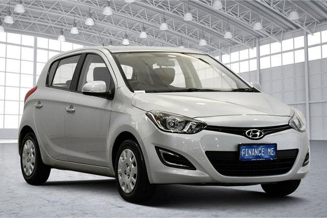 Used Hyundai i20 PB MY16 Active Victoria Park, 2015 Hyundai i20 PB MY16 Active Sleek Silver 4 Speed Automatic Hatchback