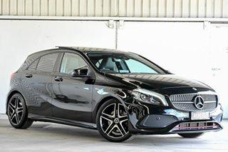 2017 Mercedes-Benz A-Class W176 807MY A250 D-CT 4MATIC Sport Black 7 Speed.