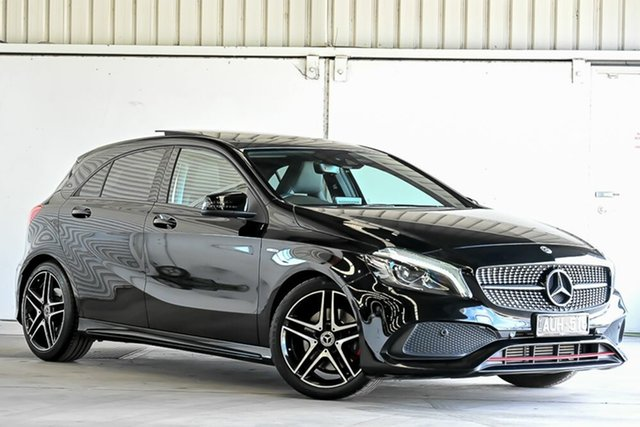 Used Mercedes-Benz A-Class W176 807MY A250 D-CT 4MATIC Sport Laverton North, 2017 Mercedes-Benz A-Class W176 807MY A250 D-CT 4MATIC Sport Black 7 Speed