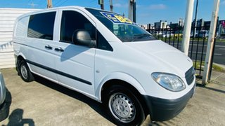 2006 Mercedes-Benz Vito 639 115CDI Low Roof Comp White 5 Speed Automatic Van.