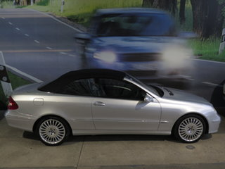2009 Mercedes-Benz CLK-Class A209 MY08 CLK200 Kompressor Avantgarde Silver 5 Speed Automatic