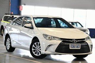 2016 Toyota Camry ASV50R MY15 Altise Diamond White 6 Speed Automatic Sedan.