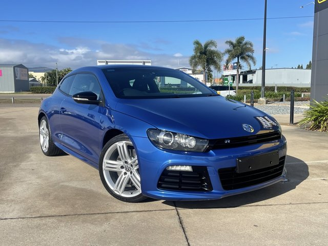 Used Volkswagen Scirocco 1S MY14 R Coupe DSG Townsville, 2013 Volkswagen Scirocco 1S MY14 R Coupe DSG Blue/311014 6 Speed Sports Automatic Dual Clutch