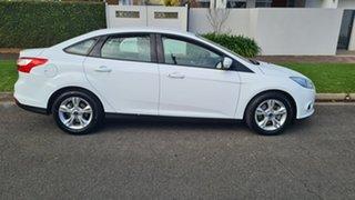 2012 Ford Focus LW Trend White 6 Speed Automatic Sedan.