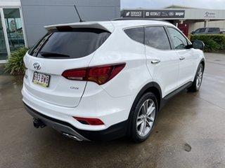2017 Hyundai Santa Fe DM5 MY18 Highlander White/160117 6 Speed Sports Automatic Wagon.