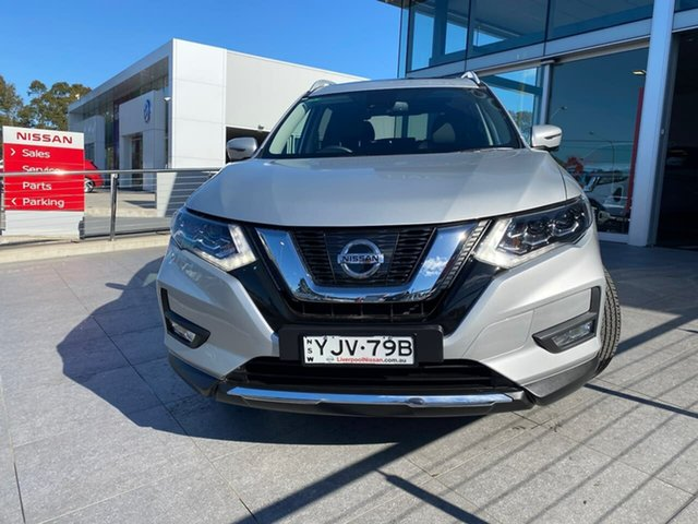 Used Nissan X-Trail T32 Series III MY20 Ti X-tronic 4WD Liverpool, 2020 Nissan X-Trail T32 Series III MY20 Ti X-tronic 4WD Silver 7 Speed Constant Variable Wagon