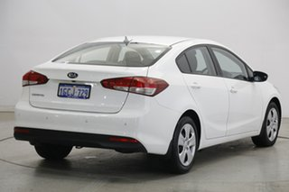 2016 Kia Cerato YD MY17 S Clear White 6 Speed Sports Automatic Sedan