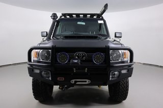 2020 Toyota Landcruiser VDJ79R GXL (4x4) Graphite 5 Speed Manual Double Cab Chassis.