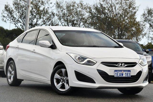 Used Hyundai i40 VF2 Active Clarkson, 2012 Hyundai i40 VF2 Active White 6 Speed Sports Automatic Sedan