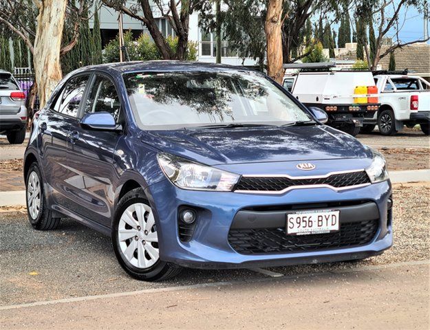 Used Kia Rio YB MY17 S St Marys, 2017 Kia Rio YB MY17 S Blue 4 Speed Sports Automatic Hatchback