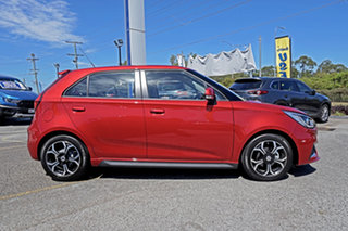 2021 MG MG3 SZP1 MY21 Excite Red 4 Speed Automatic Hatchback