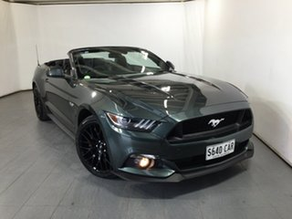 2015 Ford Mustang FM GT SelectShift Green 6 Speed Sports Automatic Convertible.