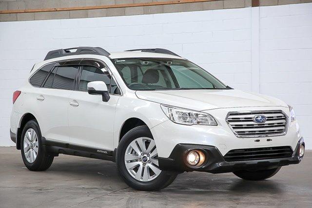 Used Subaru Outback B6A MY16 2.0D CVT AWD Erina, 2016 Subaru Outback B6A MY16 2.0D CVT AWD White 7 Speed Constant Variable Wagon