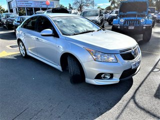 2011 Holden Cruze JH Series II MY12 SRi-V Silver 6 Speed Sports Automatic Sedan.