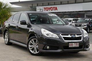 2013 Subaru Liberty B5 MY13 2.5i Lineartronic AWD Premium Grey 6 Speed Constant Variable Sedan.