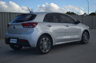 2018 Kia Rio YB MY19 Sport Cassis Red & Silky Silver 6 Speed Automatic Hatchback
