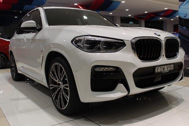 Demo BMW X3 G01 xDrive30i Steptronic M Sport Newcastle West, 2021 BMW X3 G01 xDrive30i Steptronic M Sport Alpine White 8 Speed Sports Automatic Wagon