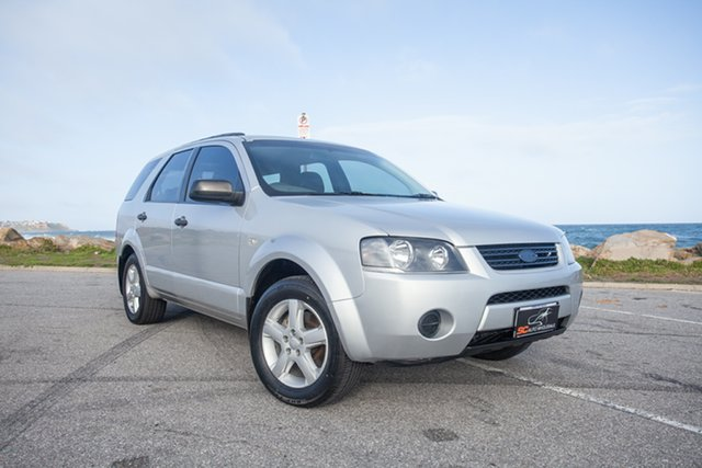 Used Ford Territory SY SR RWD Lonsdale, 2009 Ford Territory SY SR RWD Silver 4 Speed Sports Automatic Wagon