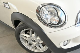 2008 Mini Hatch R56 Cooper S White 6 Speed Automatic Hatchback.