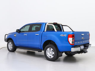 2017 Ford Ranger PX MkII MY18 XLT 3.2 (4x4) Blue 6 Speed Automatic Double Cab Pick Up