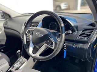 2011 Hyundai Accent RB Elite Blue 4 Speed Sports Automatic Hatchback
