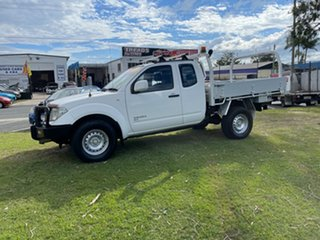 2012 Nissan Navara D40 S6 MY12 RX King Cab White 5 Speed Automatic Cab Chassis