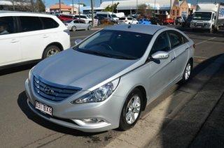 2012 Hyundai i45 YF MY11 Elite Silver 6 Speed Automatic Sedan