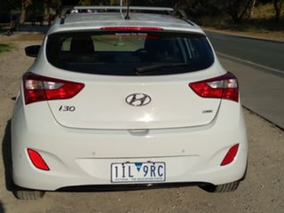 2016 Hyundai i30 GD4 Series II MY17 Active DCT White 7 Speed Sports Automatic Dual Clutch Hatchback