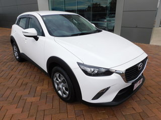2015 Mazda CX-3 DK2W7A Neo SKYACTIV-Drive Crystal White Pearl 6 Speed Sports Automatic Wagon.