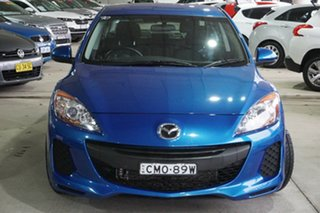 2013 Mazda 3 BL10F2 MY13 Neo Activematic Blue 5 Speed Sports Automatic Sedan.