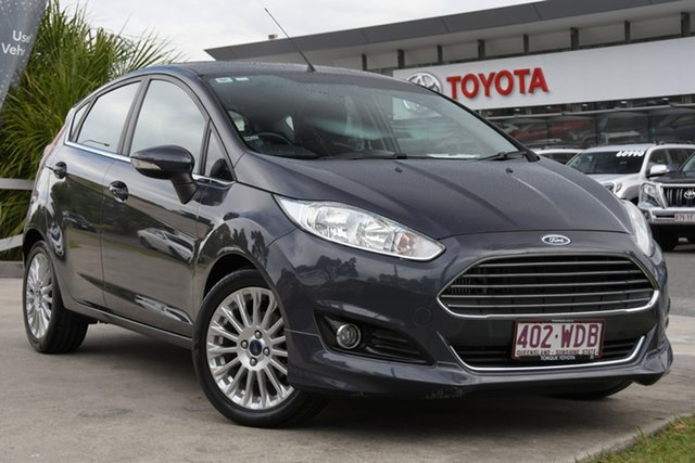 Pre-Owned Ford Fiesta WZ MY15 Sport PwrShift North Lakes, 2015 Ford Fiesta WZ MY15 Sport PwrShift Grey 6 Speed Sports Automatic Dual Clutch Hatchback