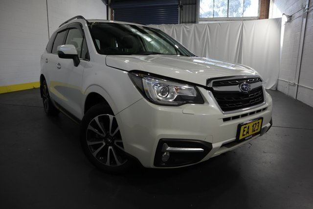 Used Subaru Forester S4 MY17 2.0D-S CVT AWD Castle Hill, 2017 Subaru Forester S4 MY17 2.0D-S CVT AWD White 7 Speed Constant Variable Wagon