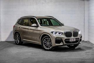 2018 BMW X3 G01 xDrive30i Steptronic Gold 8 Speed Automatic Wagon.