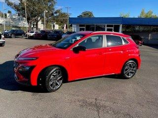 2021 Hyundai Kona Os.v4 MY21 N-Line D-CT AWD Ignite Flame 7 Speed Sports Automatic Dual Clutch Wagon.